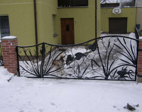 lauko vartai